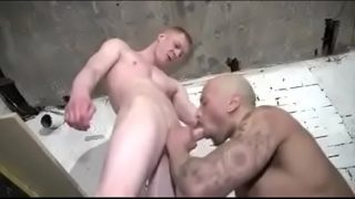 Black and White Guys Fuck at Work by Ginger Darren UK Chavs