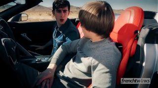 Californian Drift horny gay friends having a nice drift