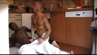 my horny ass fucked at home by straight ebony plombier
