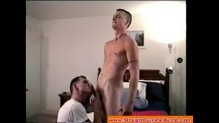 Straight boys dick sucked by old gay