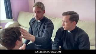 Twink Catholic Altar Boy Taylor Reign Threesome With Two Priests Isaac Parker And Johnny Ford