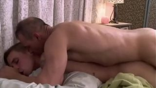 Twink muscular and daddy suck hard fuck