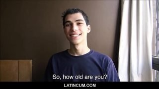 Young Amateur Latino Spanish Boy Needs Money POV